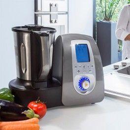 Die Küchenmaschine mit Kochfunktion ist ein wundervolles Geschenk für die Küche. Die Thermomix Alternative hat über 14 Programme und ersetzt 11 Küchengeräte.