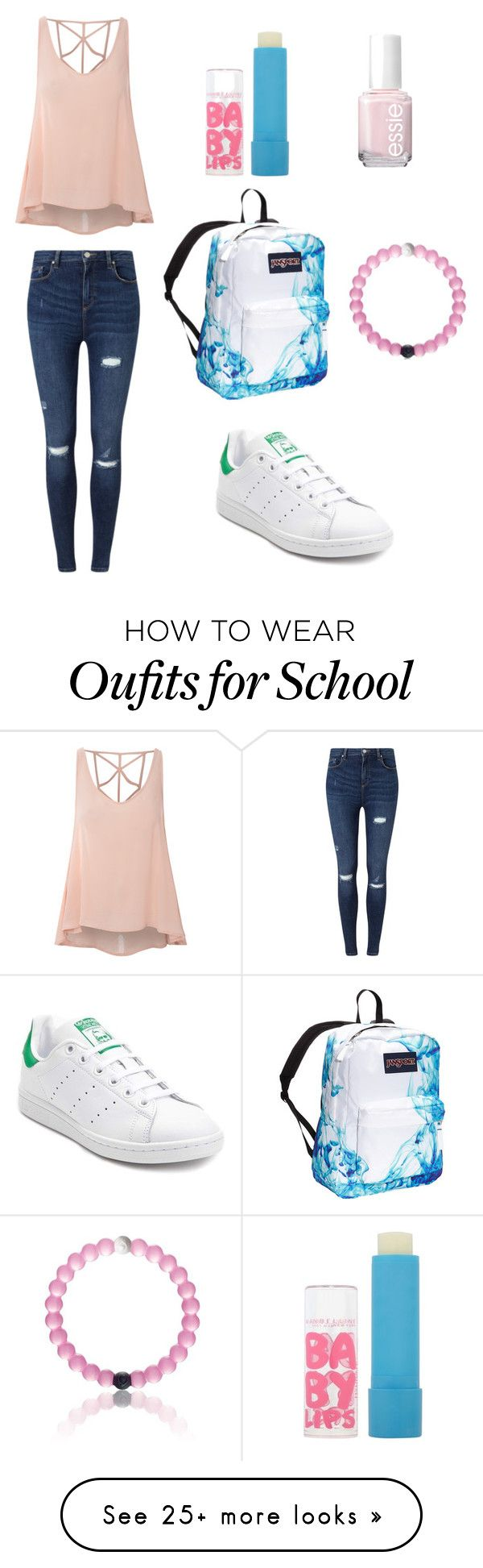 School by marvaiman on Polyvore featuring mode, Glamorous, Miss Selfridge…