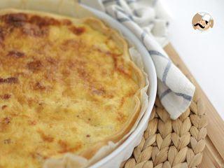 Quiche lorraine, receta original, Foto 2