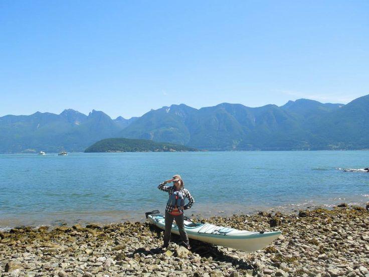Bowen Island Sea kayaking, June 2014