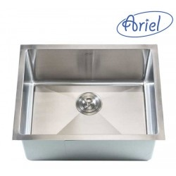 "Undermount Kitchen Sink. 16 Gauge Stainless Steel. Single Bowl. Exterior Dimensions 23"" x 18"" x 10"". Interior Dimensions 21"" x 16"" x 10"".  http://www.emoderndecor.com/23-inch-stainless-steel-undermount-single-bowl-kitchen-bar-sink-15mm-radius-design-16-gauge.html#.UTXzc2MyXRg"