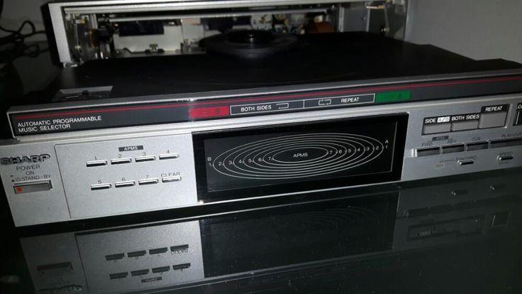 ≥ Vintage Sharp RP-118 Platenspeler RP-118 Speelt 2 kanten -