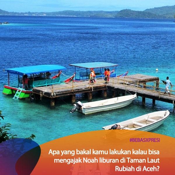 Pengen ajak Noah ke Aceh? Vote di bebasxpresi.com biar mereka konser di Aceh! #BebasXpresi