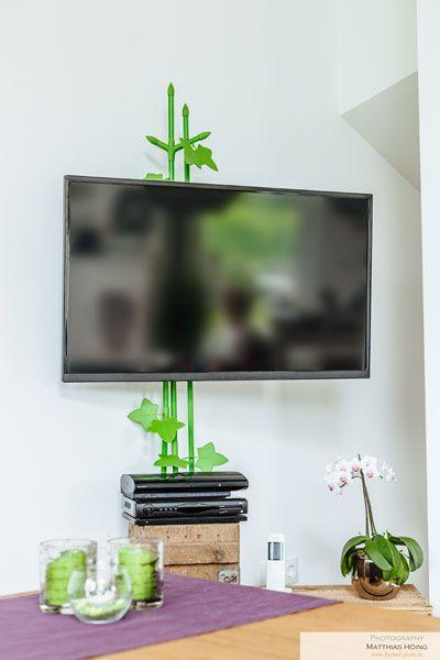 und weg sind die kabel hat so ein bisschen was von bambus. Black Bedroom Furniture Sets. Home Design Ideas