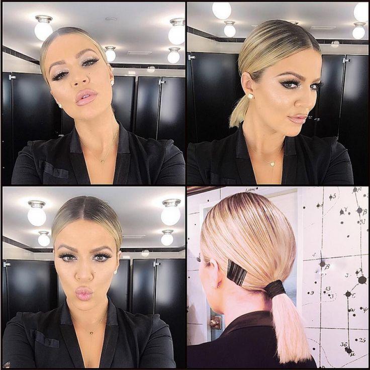 Get the Look: Khloe Kardashian's Sleek, Low Ponytail | Beauty Launchpad