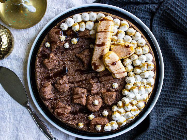 Kladdkaka med smak av tiramisu | Recept från Köket.se