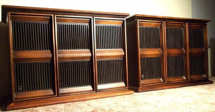 Vintage 1971 Mcintosh ML-4C Hi-Fi Speakers | Vintage and ...