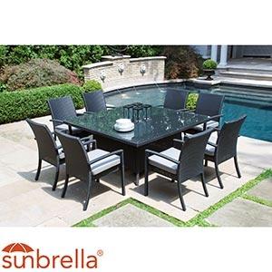 Carmel   9-piece Dining Set