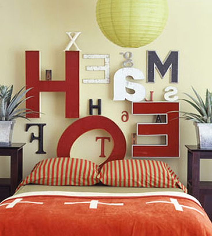 Bedroom Headboard Decoration Ideas 01 Letter Perfect Sweet Home Design