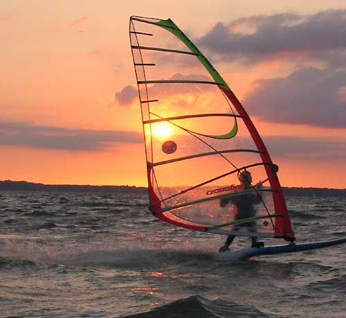 Beach + Sun + Wind + Surf