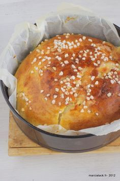 La cramique, une recette de brioche au sucre venue du Nord de la France.