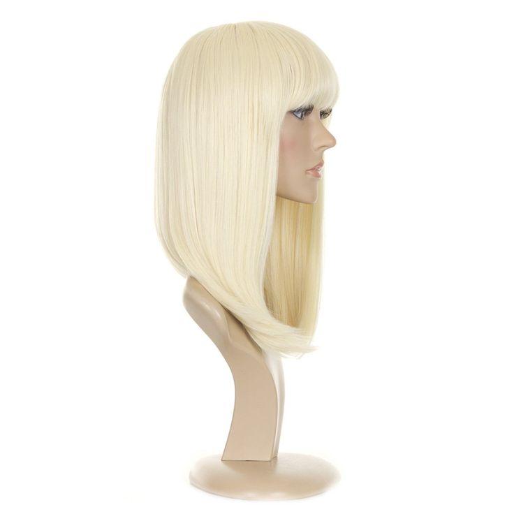 Blond Invertiert lange Bob Perücke | Im Stil von Nicki Minaj und Alexandra Burk