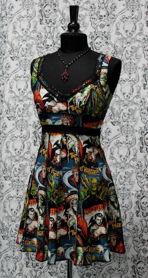 cb444ef3bd2 Shrine of Hollywood monster dress