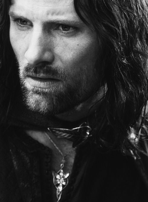 "ARAGORN - ""The hands of the king are the hands of a healer. And so the rightful king could ever be known."""