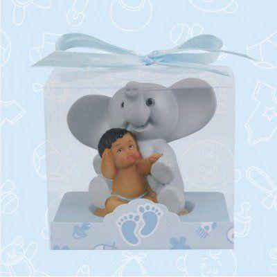 18 best elephant baby shower images on pinterest elephant baby 12 ethnic baby shower baby boy with elephant favor in box favors gift keepsake favor onlinepartycenter negle Images