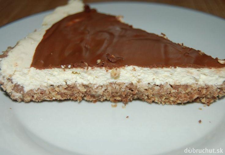 Fotorecept: Banánový cheesecake z ovsených vločiek