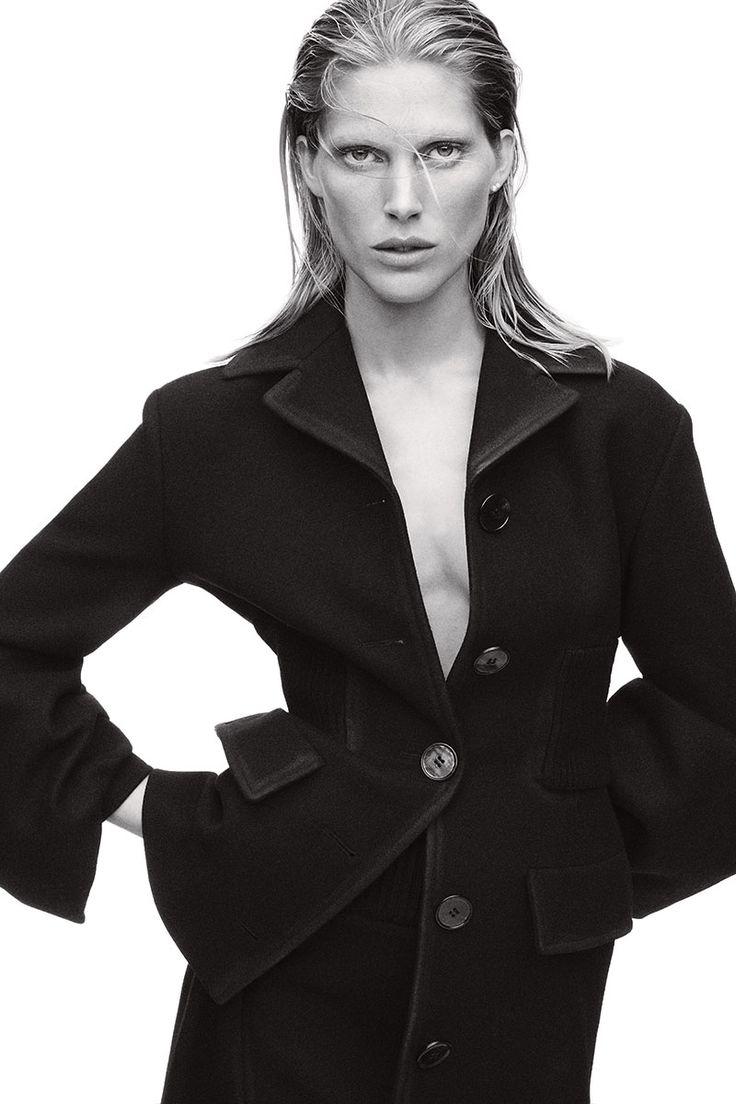 Fall Coats & Jackets. Coat and skirt, Prada.