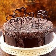 Tort+Inimi+de+ciocolata