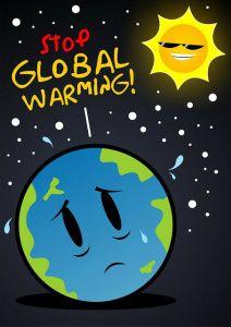 Poster Stop Global Warming
