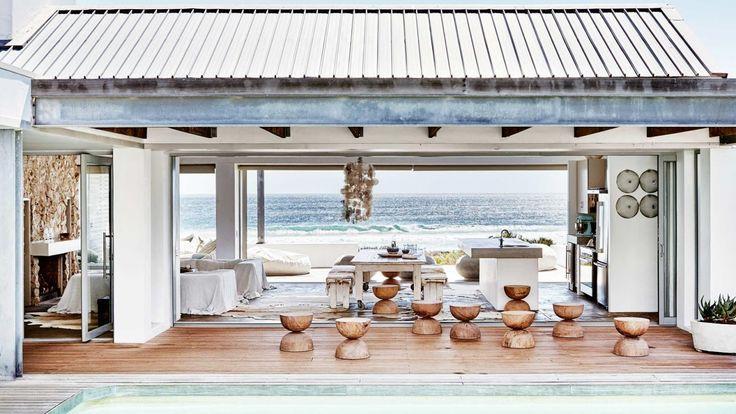 Amenajare relaxată într-o casă de pe plajă din Cape Town