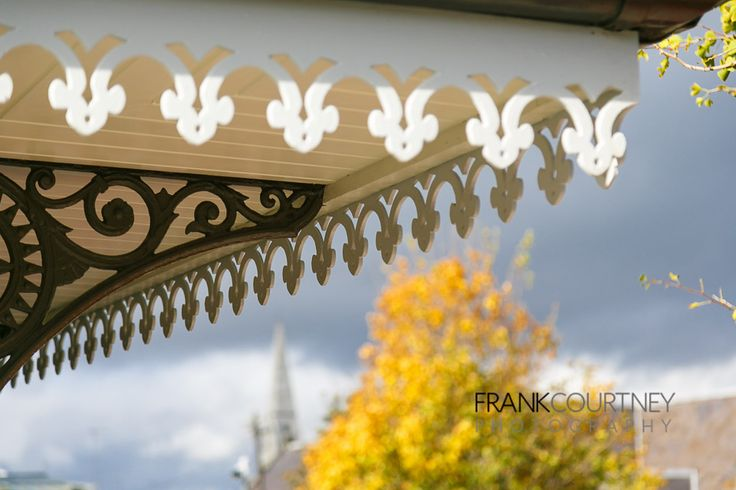More reconstructed roof details - based on an old photo of the original Pavilion