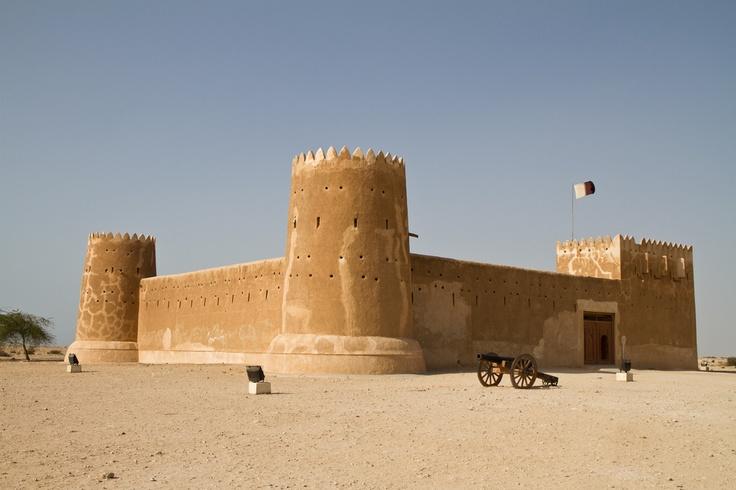 Al Zubarah Fort.  photo: Xavier Bouchevreau  view on FB @ https://www.facebook.com/SinbadsQatarPocketGuide