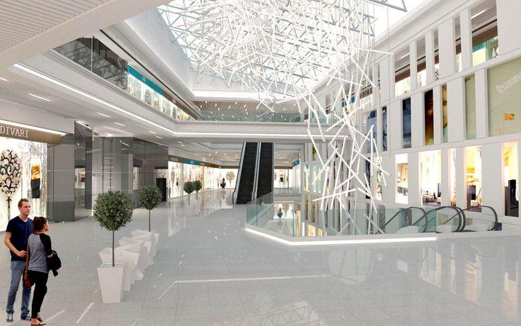 Shopping centr design by S. Gorshunov, A. Feoktistova