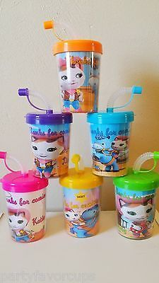 *PLEASE READ ENTIRE LISTING BEFORE PURCHASING* 6 NEW Sheriff Callie Wild West Personalized DIY BirthdayParty Favor Cups Package Includes: ★★★DO IT YOURSELF PAR