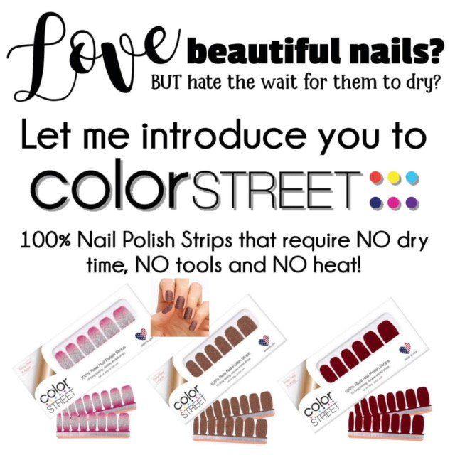 Bonita Schrader S Postable Address Book Color Street Nails