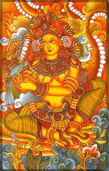 Indian Painting Styles...Kerala Mural Painting-aapsara-4-.jpg