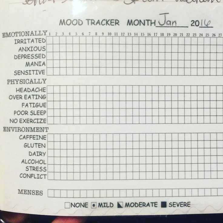 So i 39 m excited about this little mood tracker i found one for Mood log template