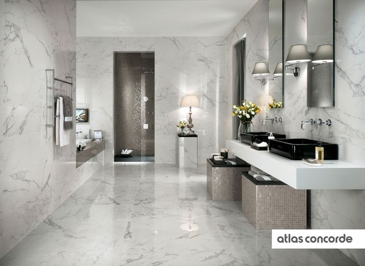 #MARVEL calacatta and silver   #AtlasConcorde   #Tiles   #Ceramic   #PorcelainTiles