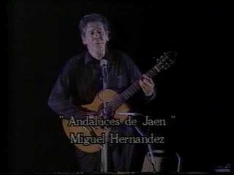 Paco Ibañez - Andaluces de Jaén - Miguel Hernández