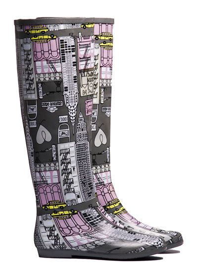 The 'Peta Urban' Rubber Boot from Pipduck. $110