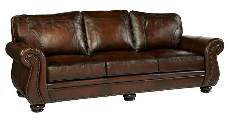 Sofa Bernhardt Item 6957l Leather Shown 165 220