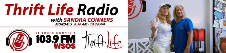 Fab Finds Thrift Life Radio with Sandra Conners 103 9 FM WSOS S1 E4 08 0...