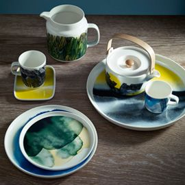Marimekko Weather Diary Dining Collection | Decorated Dinnerware | Tableware | Dining Room | Heal's