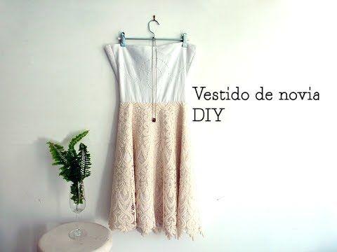 Como fazer um vestido de noiva boho DIY