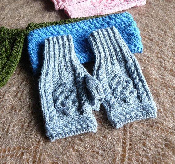 Hand knitted fingerless gloves women Fingerless mittens Arm #fingerless #gloves #women #forher  #knittedgloves