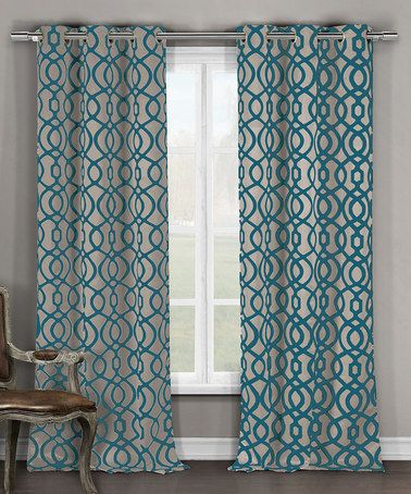 Teal   Taupe Harris Blackout Curtains   Set. Best 25  Teal blackout curtains ideas on Pinterest   Blackout