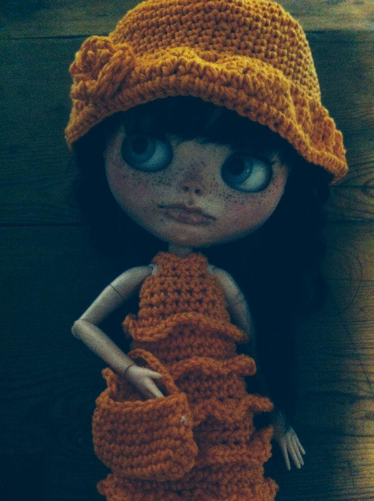 Style 70 robe chapeau sac coton crochet