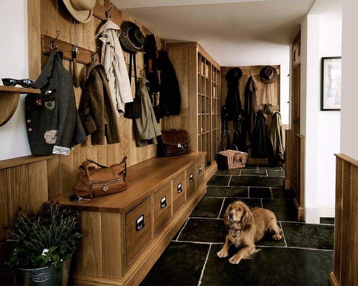 Boot Room With Pet