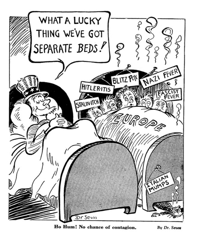 seuss political cartoons funny pictures