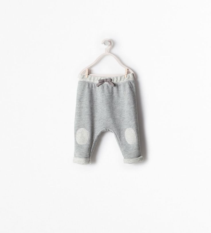 zara mini trousers with knee patch happy family. Black Bedroom Furniture Sets. Home Design Ideas