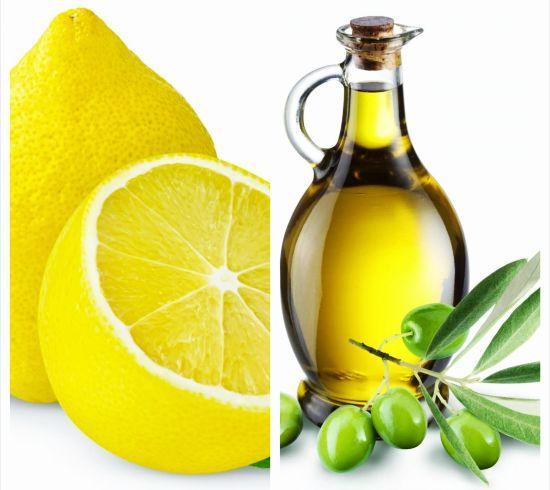 Ulei de Măsline și Suc de Lămâie