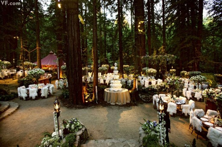 forrest wedding - Photos: All the Details of Sean Parker's Lavish Big Sur Wedding | Vanity Fair