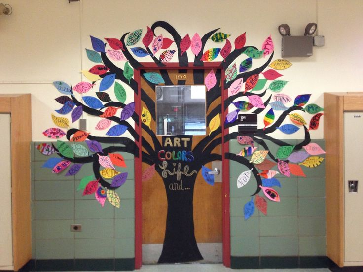school tree display - Google Search