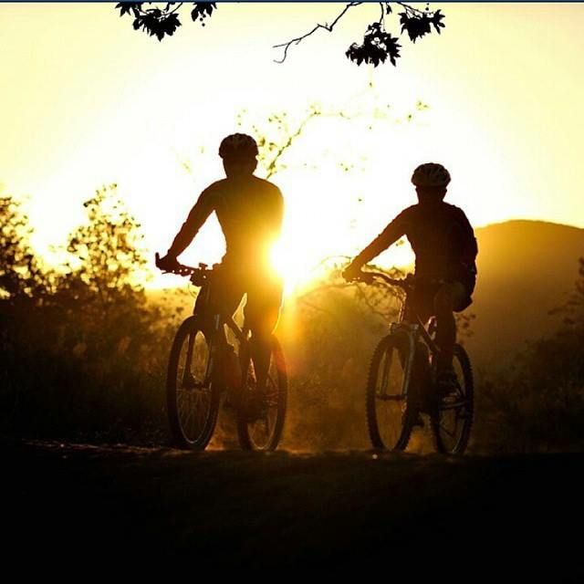 Ride off into the sunset! Explore the backcountry, #RosaritoBeach has a great terrain for some sweet Mountain Bike Action! Begin Your Journey today!  #RosaritoMeGusta!