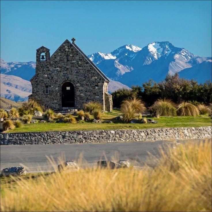 https://flic.kr/p/r9zqjs | Church of the Good Shepherd , Tekapo NZ | Kirche zum Guten Hirten Tekapo, Südinsel, Neuseeland