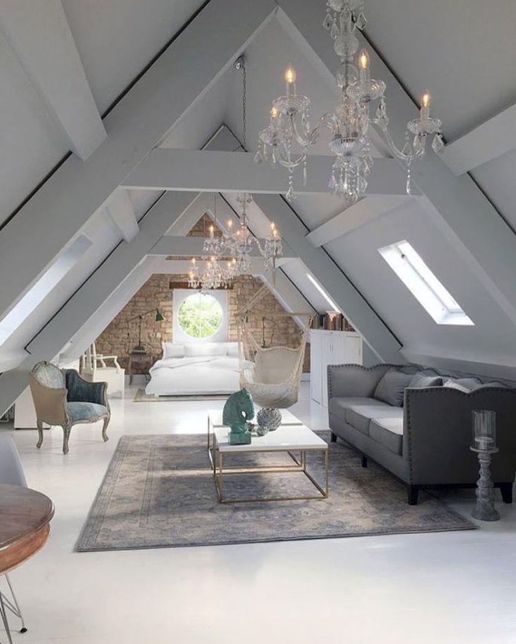 """1,001 tykkäystä, 4 kommenttia - @architecture_of_tomorrow Instagramissa: """"Chandeliers in the attic. Create differently! #architect #architecture #architecturedesign…"""""""